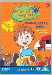 Horrid Henry's Favourite Day DVD 99p at Bee