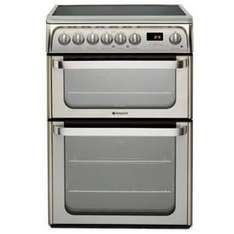 Hotpoint HUE61X Double Electric Oven - £375.20 @ BestBuy