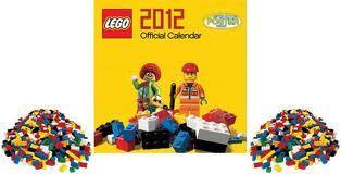 Official LEGO CALENDAR 2012 £3.99 delivered @ PLAY.COM