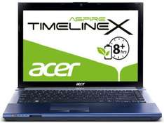Acer Aspire TimelineX 4830TG-2434G50 (14 in) (Intel Core i5 2430M, 2,4GHz, 4GB RAM, 500GB HDD, NVIDIA GT540M, DVD, 8 Hour Battery, Win 7 HP)  - £480 delivered approx @ Amazon Germany cyber monday offer