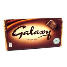 Galaxy 125g - 93p - Tesco