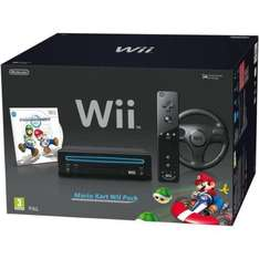 NEW NINTENDO WII+ MARIO KART MARIO KART WII PAK PLUS BLACK Brand new from Comet – with free delivery £99.99 @comet ebay