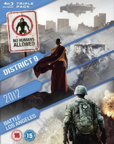 2012 / Battle: Los Angeles / District 9 Blu-ray £11.95 @ Zavvi