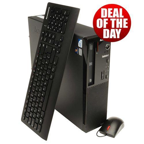 Lenovo ThinkCentre Edge 71 SFF PC / Pentium G840 2.8GHz / 2GB RAM / 320GB HDD / Windows 7 Professional £311.99 @ Misco