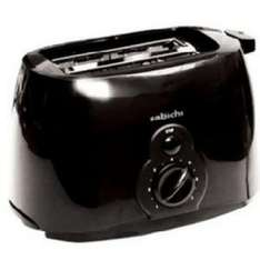 Sabichi 2 Slice Black Toaster £4 @ B & Q was £9.98