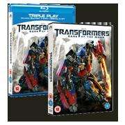 Simply Tap - Transformers - Dark of the Moon on DVD £7.99 and Blu-Ray £9.99.