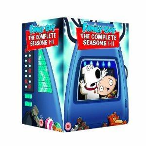 Family Guy - Season 1-11 [DVD] £84.97 @ amazon