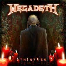 Megadeth new album Th1rt3en £5.99 @ play