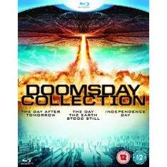 The Doomsday Collection - 3 Film Blu-Ray set - £8.99 @ Amazon UK