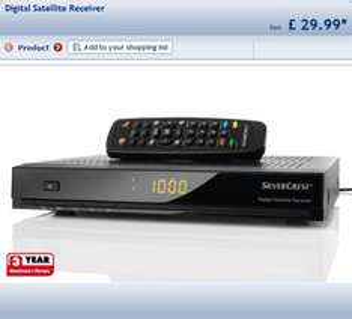 Lidl-Digital Satellite Receiver £29.99 @ Lidl from 1st Dec