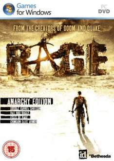 Rage: Anarchy Edition (PC) - £13.99 delivered @ Game online