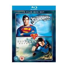 Superman / Superman Returns [Blu-ray][Region Free] - £5.99 Delivered @ Amazon