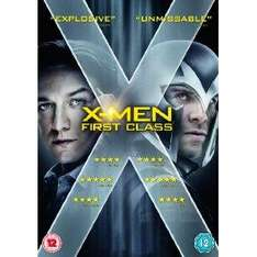 X-Men: First Class (DVD + Digital Copy) - £6.99 Delivered @ Amazon