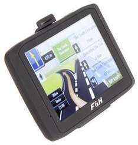 Foehn & Hirsch Sat NAV inc 2GB MP3/MP4 FM Transmitter £39.99 inc delivery at eBUYER