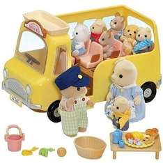 Sylvanian Families Nursery School Bus £10 @ John Lewis (comes with over 20 pieces)