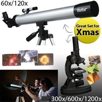 Vivitar Telescope & Microscope - £26.73 delivered @ Dealtastic