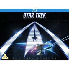 Star Trek: The Original Series Complete Blu Ray Series 1,2 and 3 @ Amazon.co.uk