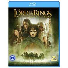 Lord of the Rings: The Fellowship of the ring (2 Disc) BLU RAY £5.49 @ Amazon