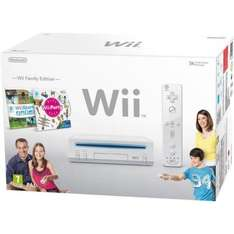 NEW NINTENDO Wii FAMILY EDITION FAMILY EDITION PACKAGE WHITE - £99.99 from Comet Outlet on eBay