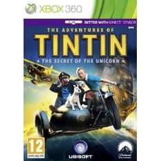 The Adventures of Tintin : The Secret of The Unicorn for PS3 or xbox 360 @ bestbuy delivered using code BBY