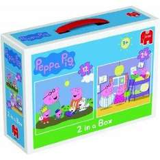 Peppa Pig Duo Jigsaw Puzzles (12 and 24 Pieces) now £3.99 delivered @ amazon
