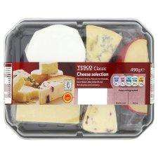 Tesco classic or British cheese selection half price £3.00 online & instore
