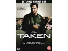 Taken DVD (Extended Harder Cut) - £2.99 Delivered @ play.com (8% Quidco) & amazon.co.uk
