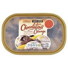 Tesco Limited Edition Ice Cream 900ml - Chocolatino & Orange - £1.10