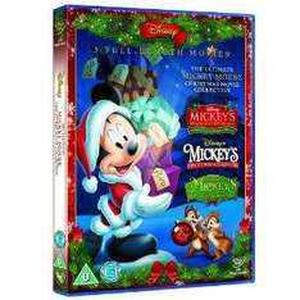 Sainsbury's Mickey Mouse Xmas Movies Collection (3)  DVD £5