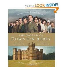 The World of Downton Abbey [Hardcover]  6.20 amazon