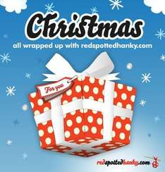 Free wrapping paper (only 500 people) @ redspottedhanky