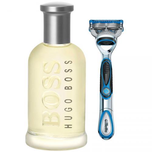 Boss Bottled Edt 200ml Spray with FREE Gillette Proglide Razor - only £39.59 delivered (using code) @ The Fragrance Shop