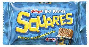 Kellogg's Rice Krispies Squares Totally Chocolatey (4 x  36g) £1.88 BOGOF & Kellogg's Rice Krispies Squares Chewy Marshmallow (4 x 28g pack) £1.77 BOGOF @ Tesco