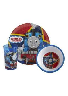 thomas the tank engine 3 piece dining set £3 free delivery with code FREEBL7X3(thanks to traceywoods2000 for code)
