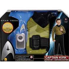 Star Trek Captain Kirk or Spock Dressing Up Set/Outfit normally £20 only £4.99 instore at Home Bargains