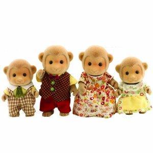sylvanian monkey family £9 delivered - amazon