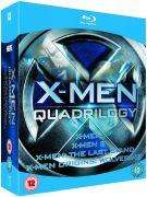 X-Men Quadrilogy: X-Men / X2 / X-Men: The Last Stand / X-Men: Origins - Wolverine (Blu-ray) for £9.95 @ The Hut