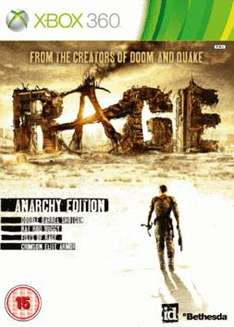 Rage: Anarchy Edition - on PS3 or Xbox 360 £17.79 Using Code @ GAME