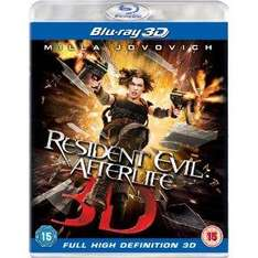 Resident Evil: Afterlife 3D (Blu-ray) [Region Free] for £10.97 @ Amazon