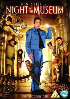 Night At The Museum DVD - £2.65 Delivered @ Amazon