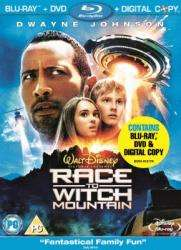 Race To Witch Mountain [Blu-Ray +  DVD + Digital Copy] Triple Play  for £4.99 @ Bee.com