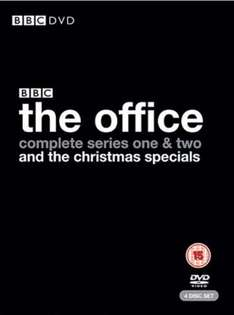 The Office (UK) - Complete Box Set - £8.47 Delivered @ TescoEntertainment (8% Quidco)