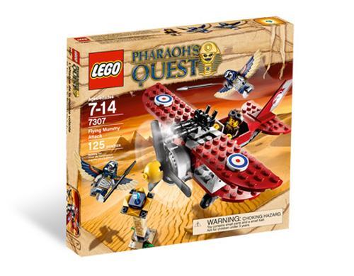 Lego- Pharaohs Quest flying mummy attack -instore Tesco £7.50