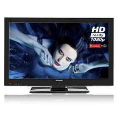 Sharp LC32LE511E LED 1080P TV FREEVIEW HD £279.99 STORE COLLECTION @ PRC Direct