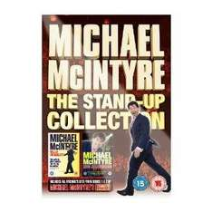 MIchael McIntyre The Stand-up collection 2 DVDs + bonus DVD £7.47 @ Amazon