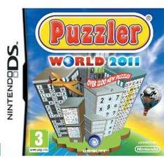 Puzzler World 2011 (Nintendo DS) £8.99 delivered @ amazon