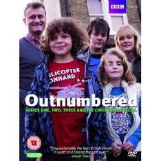 Outnumbered series 1-3 + xmas special £11.25 @ Amazon