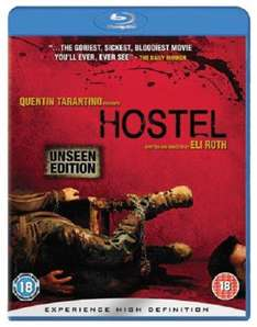 Hostel Bluray Unseen Edition £2.99 Thats Entertainment Used