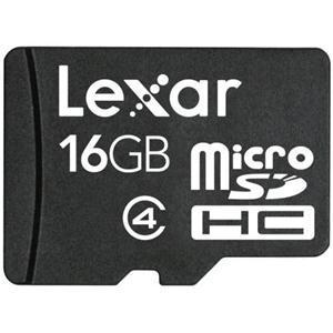 Lexar 16GB Micro SDHC Memory Card Class 4 @ Play with code