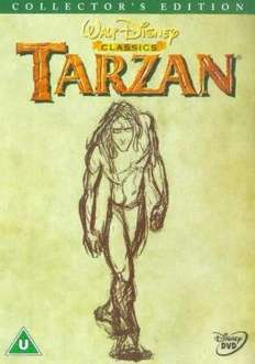 Disney's Tarzan DVD (1999) Collectors Edition £2.99 delivered (That's Entertainment)